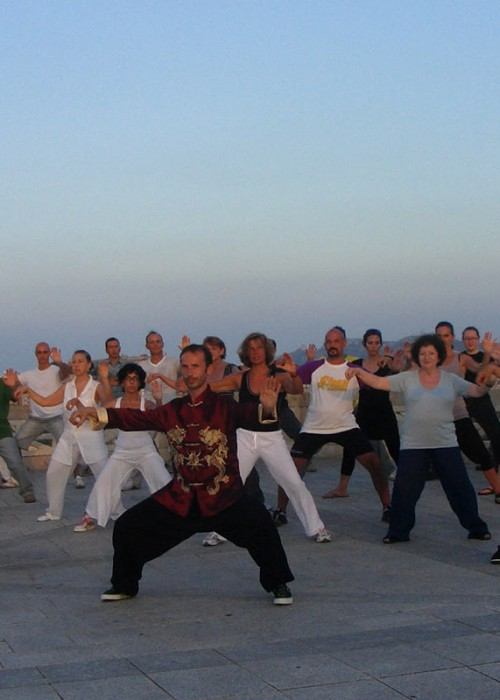 Tai Chi classes Europe shifu niall