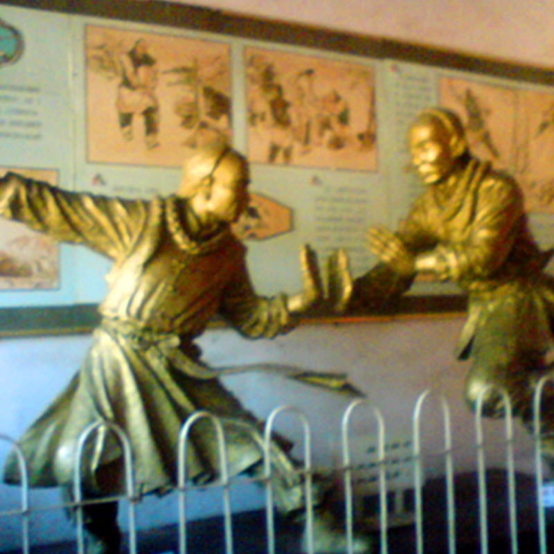 the beginning of Tai Chi